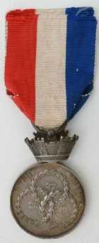 Photo numismatique  Ordres et Décorations Décorations Militaires Françaises LA MONARCHIE DE JUILLET (1830-1848)  Médaille