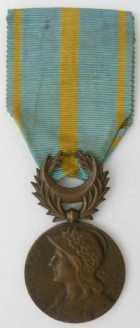 Photo numismatique  Ordres et Décorations Décorations Militaires Françaises GUERRE DE 1914-1918 Décorations officielles Médaille