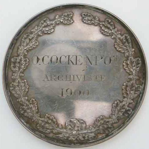 Photo numismatique  Médailles BEAUX-ARTS (Architecture, Peinture, Musique…) ARCHITECTURE  Médaille