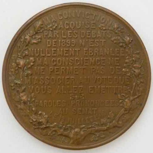 Photo numismatique  Médailles RELIGIONS ANTISEMITISME  Médaille