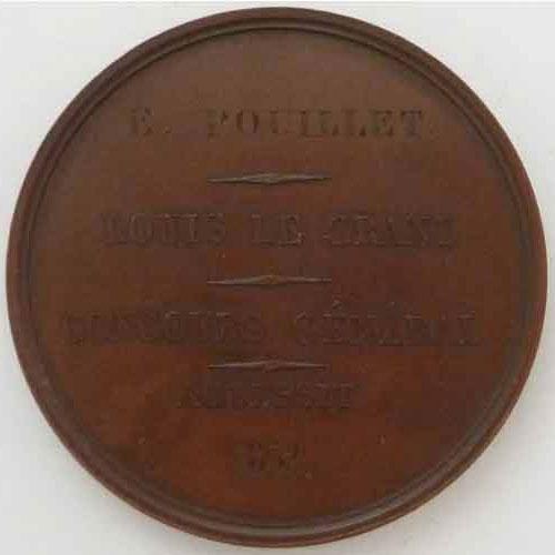 Photo numismatique  Médailles ENSEIGNEMENT (Ecoles - Université) ECOLES CONCOURS GENERAL Médaille