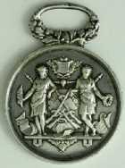 Photo numismatique  Médailles SPORTS CONCOURS DE TIR SOCIÉTÉ DE TIR DE GENTILLY – KREMLIN (Seine) Médaille
