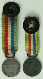 Photo numismatique  Ordres et Décorations Décorations Militaires Françaises ANCIENS COMBATTANTS  Lot de 2 médailles