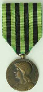 Photo numismatique  Ordres et Décorations GUERRE DE 1870-1871 MEDAILLE COMMEMORATIVE  Médaille