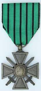 Photo numismatique  Ordres et Décorations Décorations Militaires Françaises ETAT FRANCAIS (1940-1944)  Croix de guerre