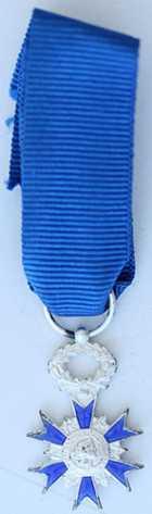 Photo numismatique  Ordres et Décorations Ordre National du Mérite   Etoile de chevalier miniature