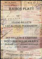 Photo numismatique  Librairie Catalogues de la Maison Platt Catalogue Permanent 2003  Catalogue de PAPIER-MONNAIE