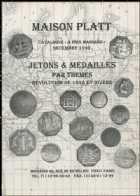 Photo numismatique  Librairie Catalogues de la Maison Platt Catalogue Décembre 1999  Catalogue général de numismatique