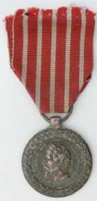 Photo numismatique  Ordres et Décorations Décorations Militaires Françaises LE SECOND EMPIRE (1852-1870) La Campagne d'Italie (1859) Médaille