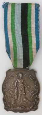 Photo numismatique  Ordres et Décorations Décorations Civiles Françaises DISTINCTIONS DES SOCIETES MUTUALISTES  Médaille