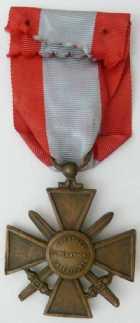Photo numismatique  Ordres et Décorations Décorations Militaires Françaises CROIX DE GUERRE DES T.O.E.  Croix de guerre